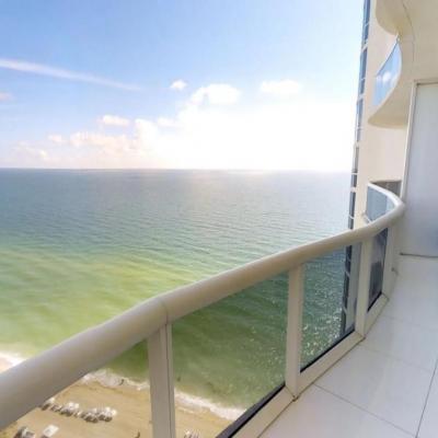 Apartamento em Miami com Vista para o Mar