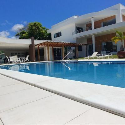 Casa no Encontro das Águas com 7 suítes incluindo 1 suíte master com 50 m²