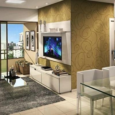 Apartamento dois quartos, 53,4 m² no Edf. Singullare Iguatemi