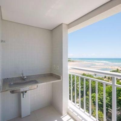 Apartamento duas suítes, com  87,40 m² Villa do Mar Buraquinho