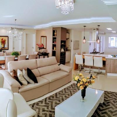 ALGALEO RESIDENCE - apartamento 3 suites finamente mobiliado centro