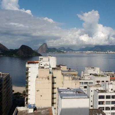 excelente apt 1 qto dep. empreg vaga Icaraí vista Baía de Guanabara