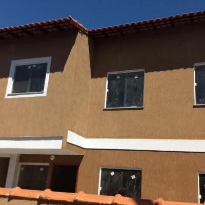 Programa Minha Casa Minha Vida - Casas Duplex com 2 Quartos e Vaga de Garagem - Rua da Caminhada, Paraíso, São Gonçalo - RJ
