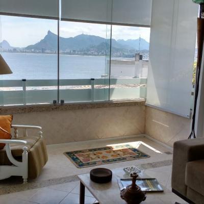 Apartamento 1 quarto na Boa Viagem com linda vista para a Baia de Guanabara