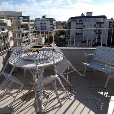 Cobertura duplex Braga dividida 2 apts independentes 4 suites