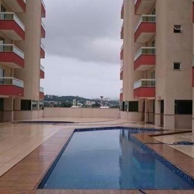 Apartamento tipo - Varanda. 3 Quartos (1 Suíte) 1 Vaga - Residencial Aquarela - Aterrado, Volta Redonda - RJ