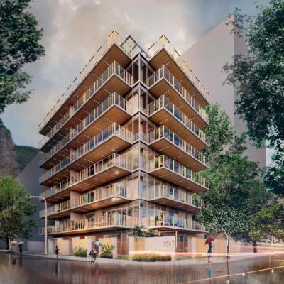 Lançamento Borges 3647 - Apartamento e Coberturas 2, 3 e 4 Quartos - Rua Borges de Mederios, Lagoa, Rio de Janeiro - RJ