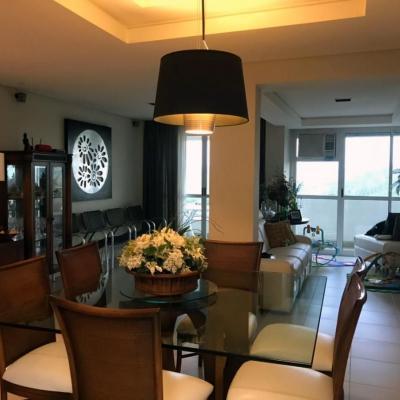 Residencial Monet - Apartamento Mobiliado e Decorado com 130 m² com 3 quartos (sendo 1 Suíte) e 2 vagas - Rua 154, Cento e Cinquenta e Quatro, Laranjal, Volta Redonda - RJ