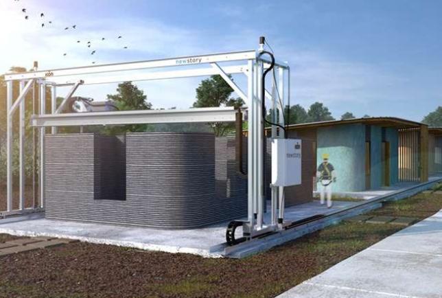 Casa feita com impressão 3D custa US$ 10 mil e pode ser construída em um dia; veja vídeo